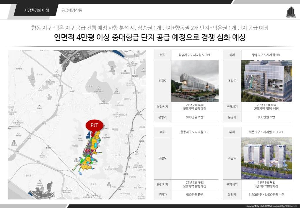 향동 현대테라타워 DMC 주변 지식산업센터 현황